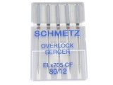 NEEDLE SCHMETZ SIZES 80  /  90 SOLD 5 PER CARD